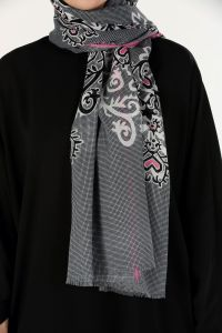 COTTON AKEL SHAWL