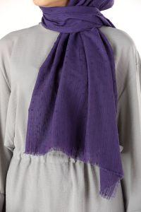 COTTON POLO SHAWL