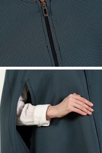 Zippered Poncho