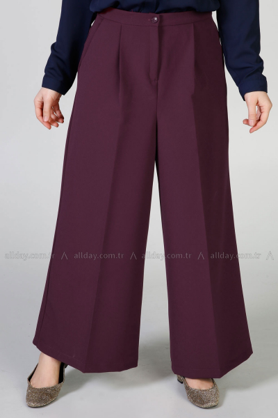 Wide Leg Hijab Pants
