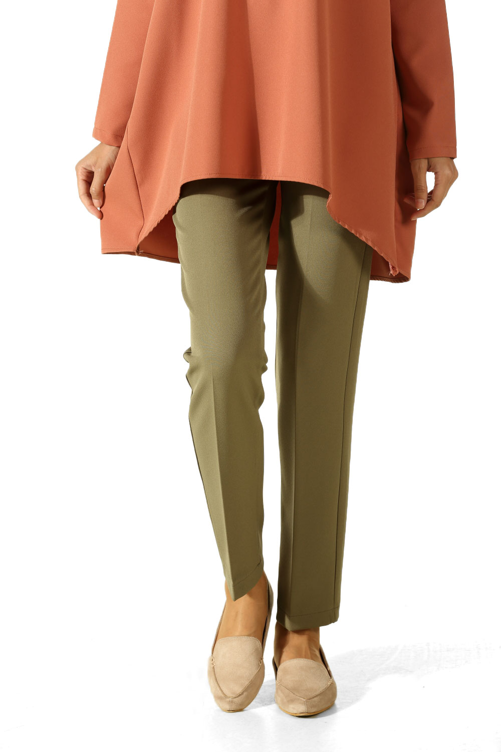 Skinny Fit Casual Chic Pants