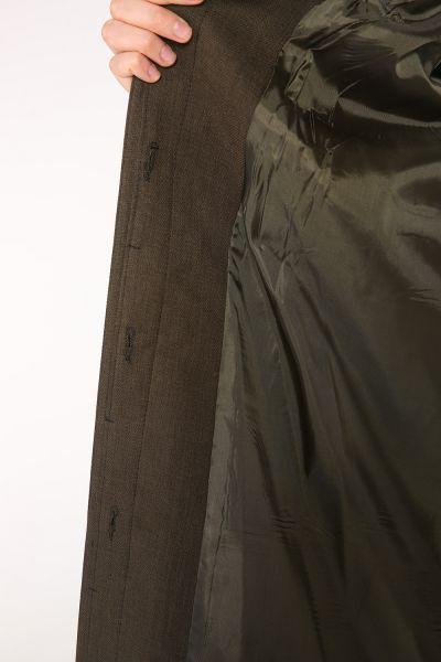 Pardesü Dünyası Büyük Beden Gizli Patlı Astarlı Pardesü