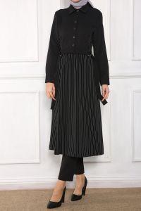 Paris Esina Kuşaklı Uzun Tunik