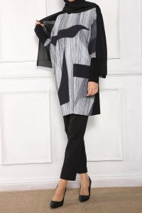 Paris Esina Plise Tunik