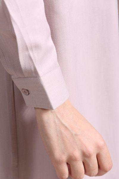 Button Detailed Shirt Tunic