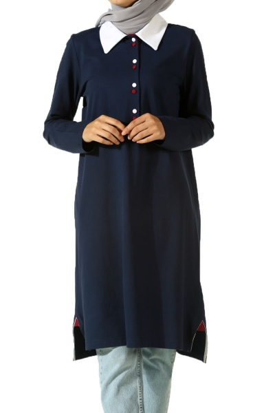 Placket Lacoste Tunic
