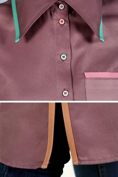 Renkli Şeritli Tunik