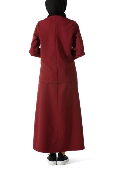 Payetli Etek Bluz Takım