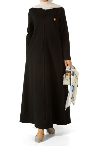 COMBED COTTON ABAYA