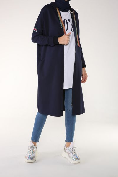 COMBED COTTON CARDIGAN
