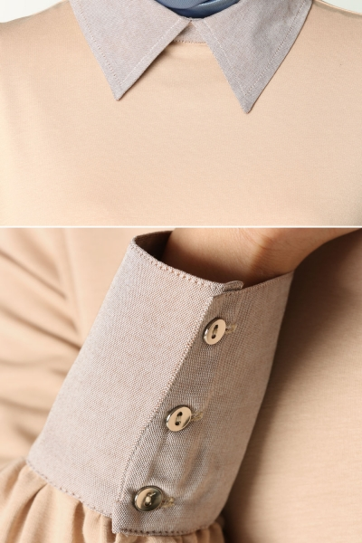 Shirt Collar Penetration Tunic