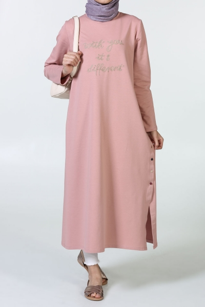 SIDE BUTTON TUNIC