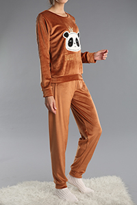 Patterned Track Suit
