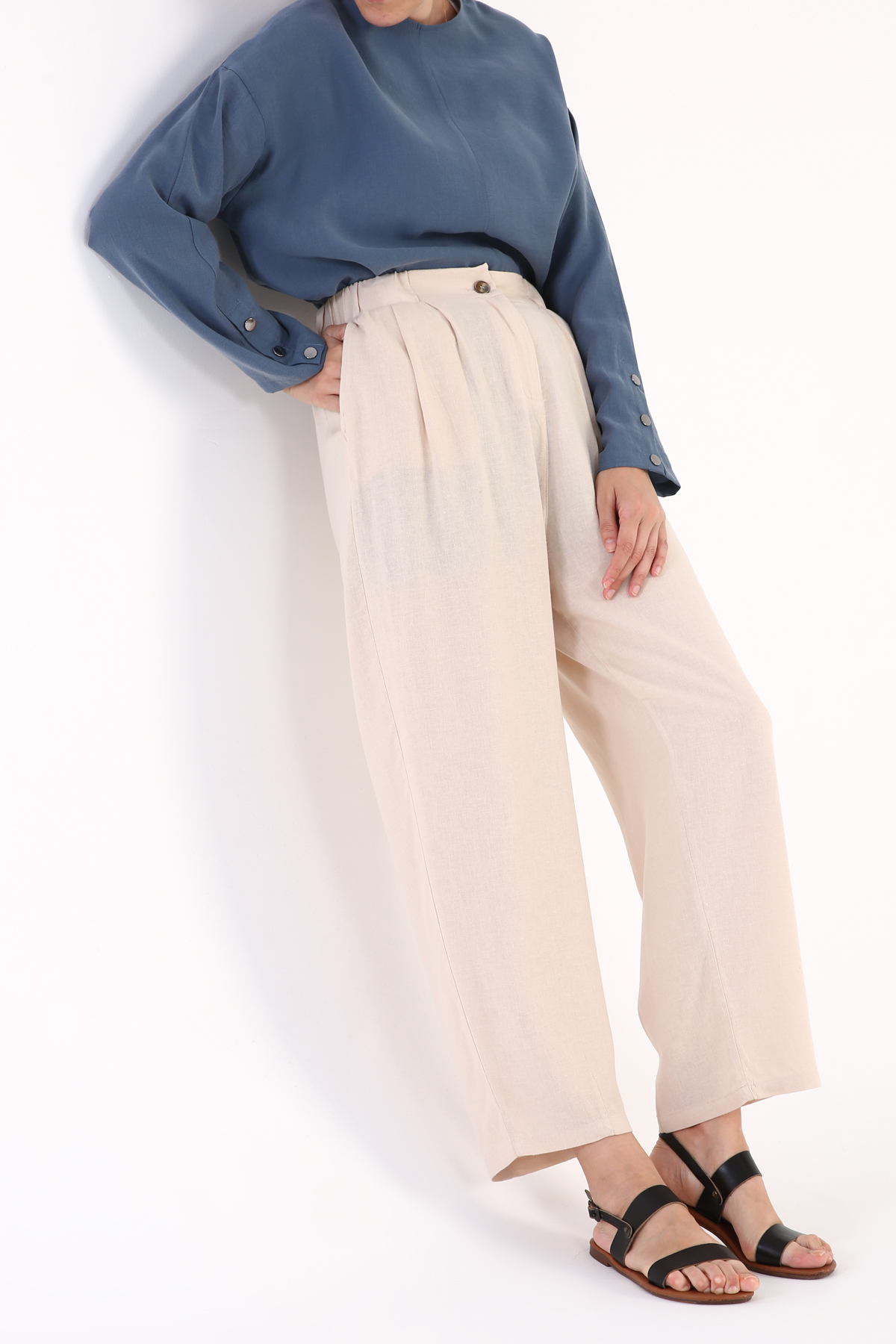 Comfy Pleated Pants
