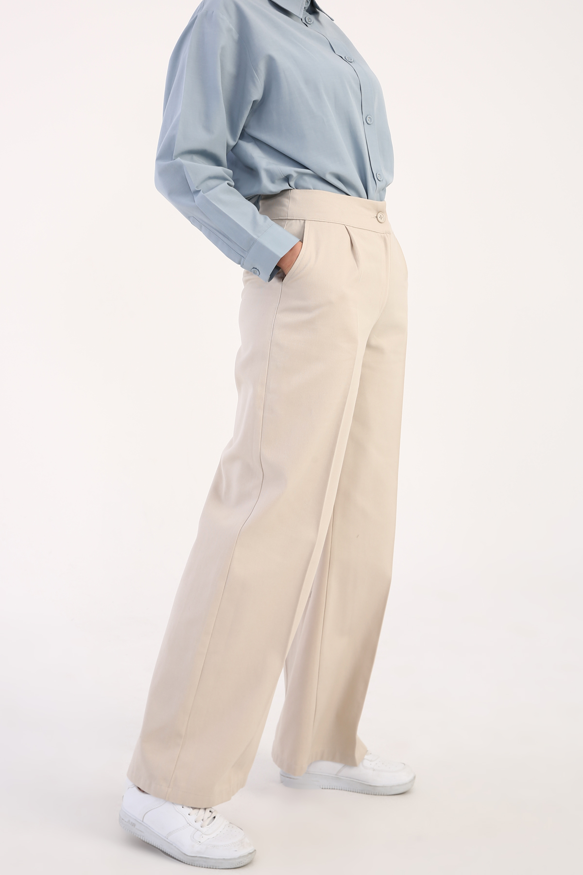 Pleated Formal Pants