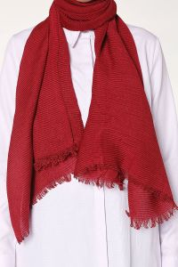 PLEATED SHAWL