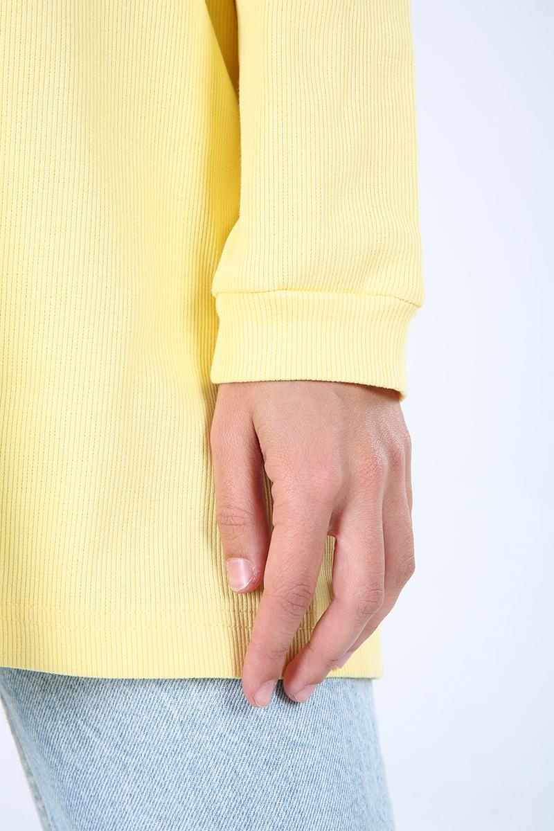 Comfortable Mold Sweatshirt Tunic
