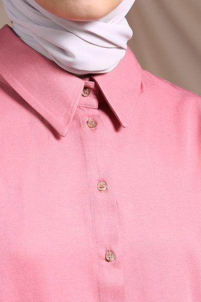 Rahat Kalıp Patlı Uzun Gömlek
