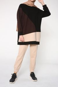 Reglan Kol Pantolonlu İkili Takım