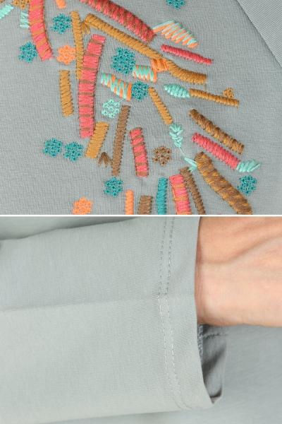 Nakışlı Sweatshirt