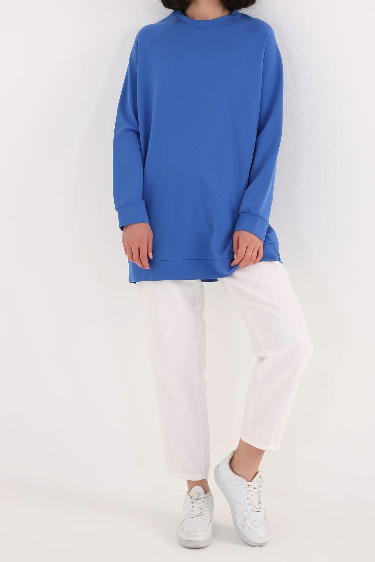 Raglan Sleeve Basic Sweatshirt
