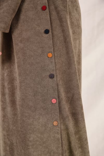 COLORFUL BUTTONED TUNIC