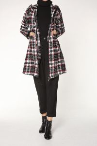 COLORFUL PLAID CAPE