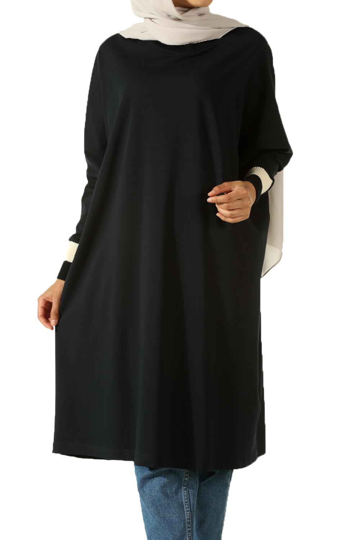 Ribanalı Salaş Penye Tunik