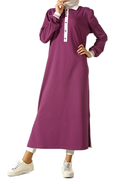 RIBBED LONG TUNIC