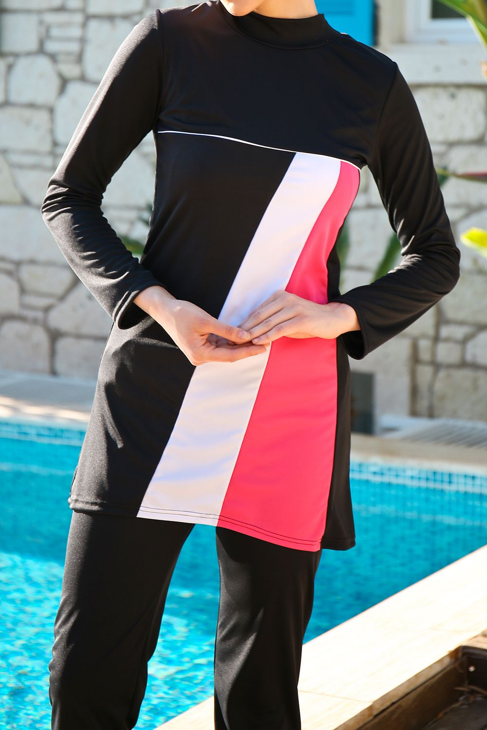THREE PIECE HIJAB SWIMSUIT