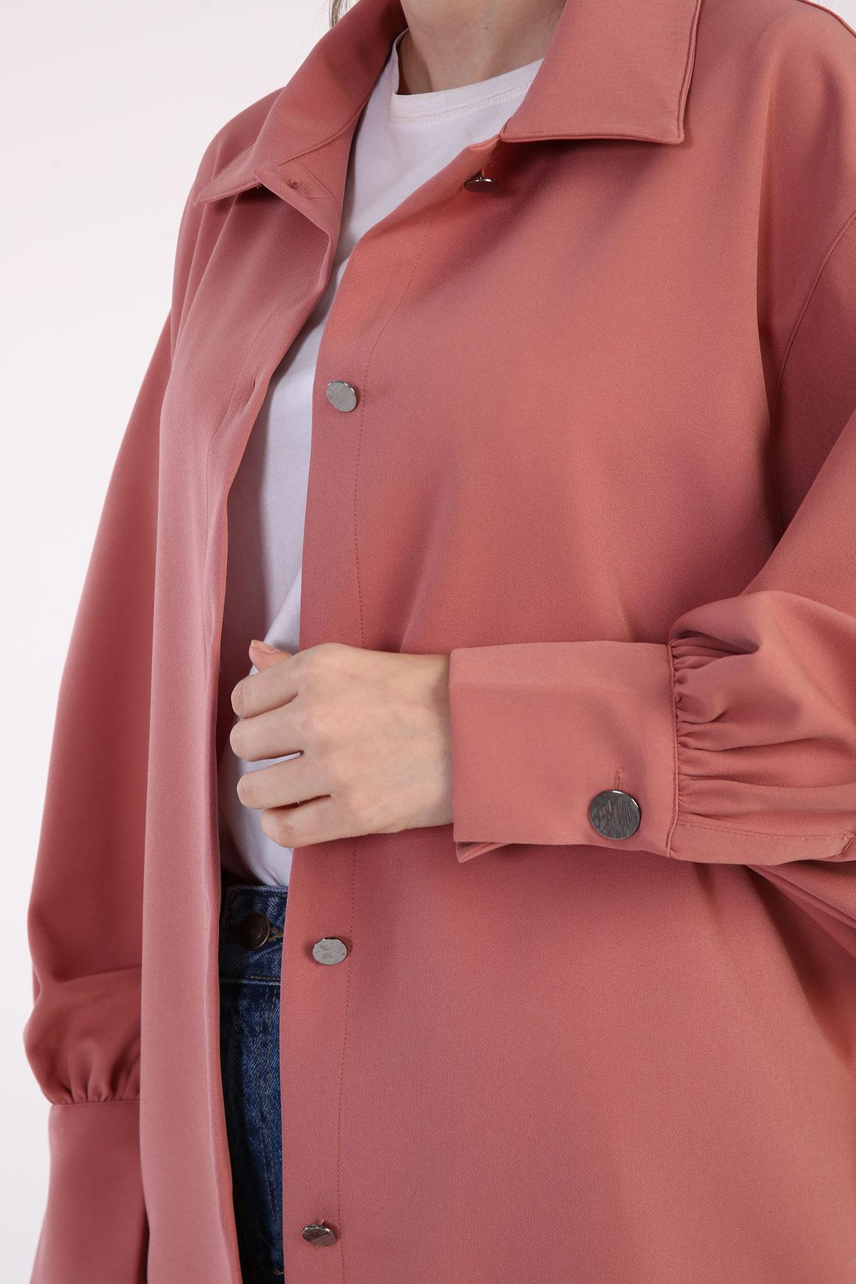 Balloon Sleeve Comfy Jacket