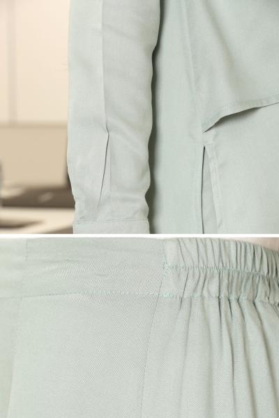 Doğal Kumaş Tunik & Pantolon Takım