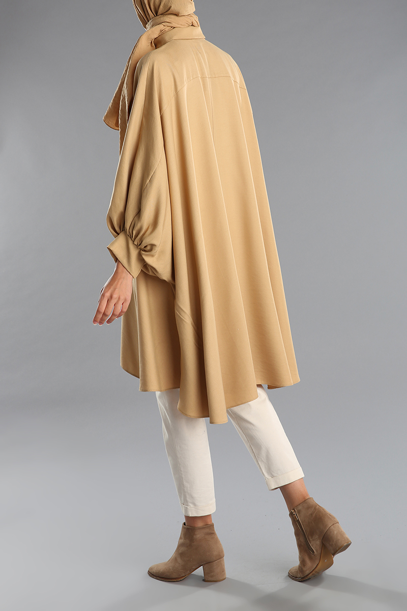 Batwing Sleeve Shirt Tunic