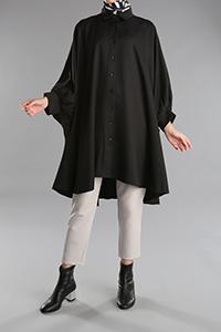 Batwing Sleeve Shirt Tunic