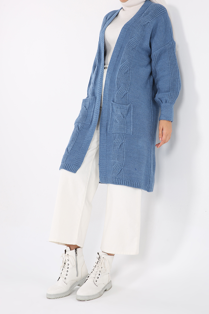 Salas Pocket Knitwear Cardigan