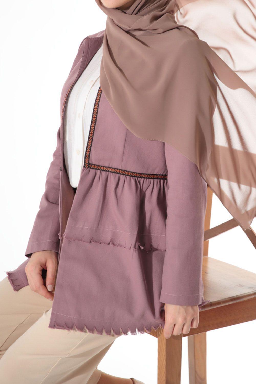 Şeritli Ceket