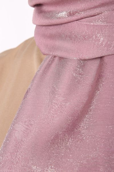 Simli Polyester Şal