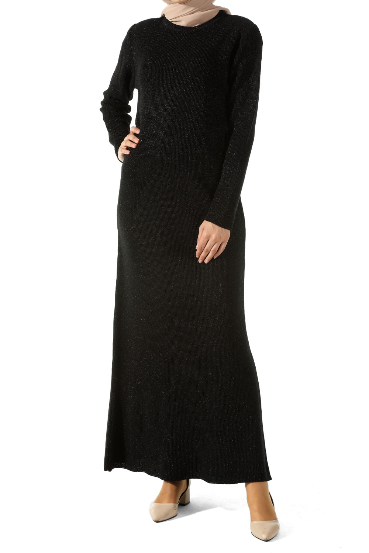 Simli Triko Elbise