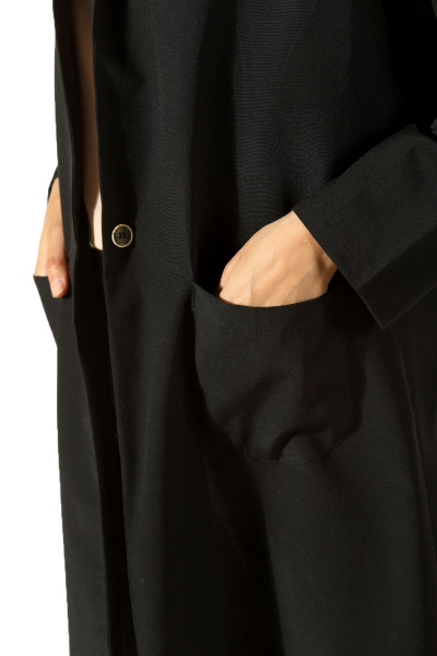 Sırtı Baskılı Ceket