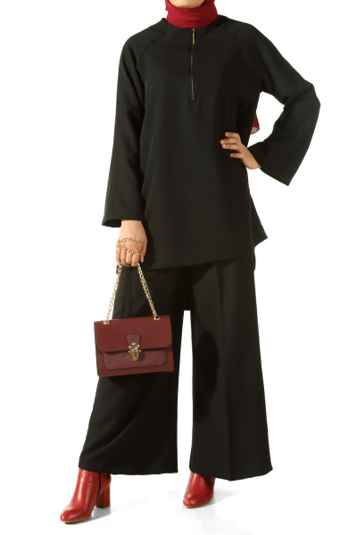 EMBROİDERED HIJAB SUITS