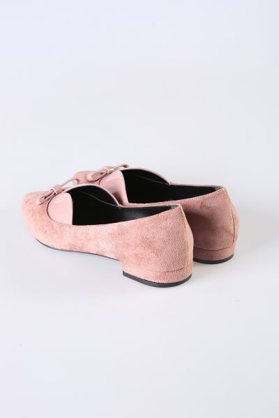 SUEDE FLAT SHOES