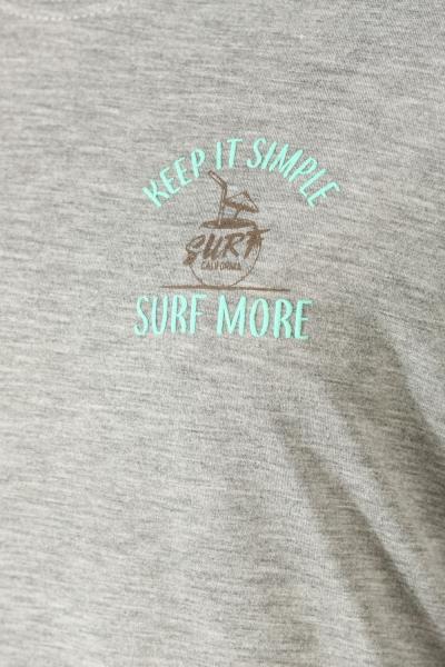 SURF BASKILI PENYE TUNİK