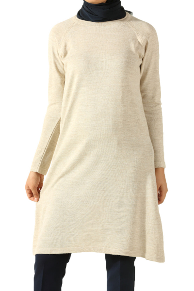 Reglan Arm Knit Tunic
