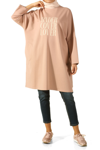 T-SLEEVE PRINTED TUNIC