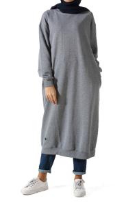 T-Kol Uzun Penye Tunik