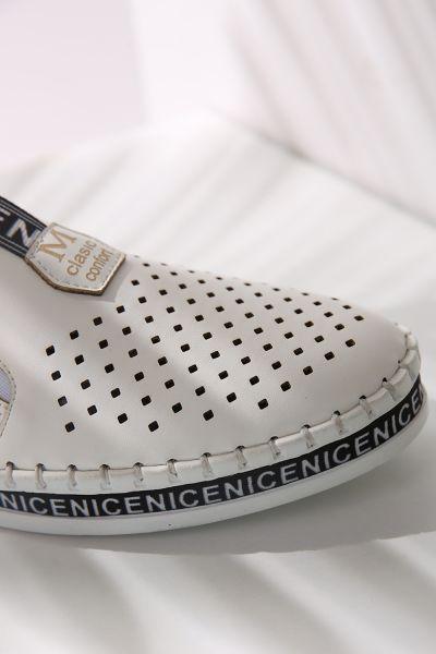 Tabanı Nice Baskılı Spor Ayakkabı