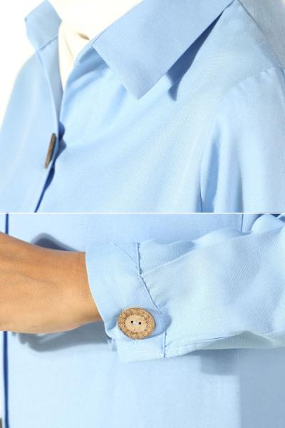 Tahta Düğmeli Tunik