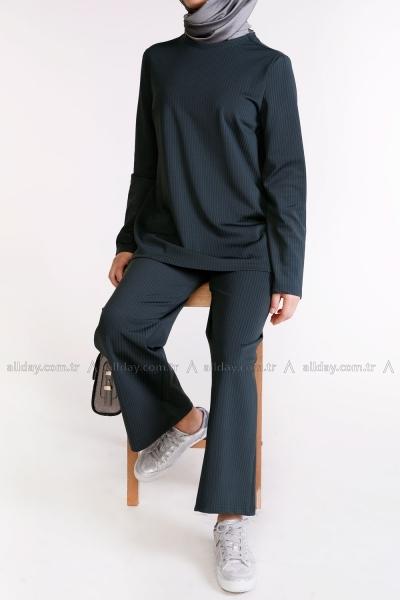 Bluz Ve Pantolon Takım