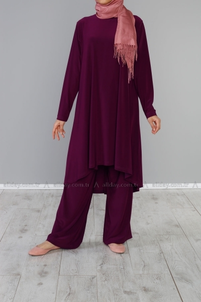 COMBED COTTON HIJAB SUIT