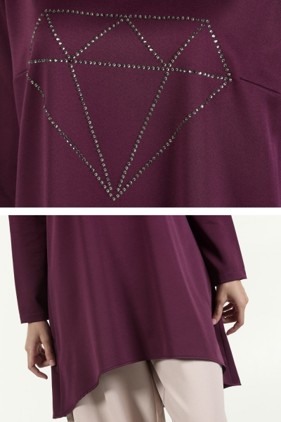 STONE DETAILED TUNIK